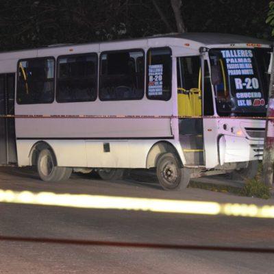 NOCHE DE VIERNES VIOLENTA EN CANCÚN: Balazos en bar de la Región 90, tirotean a conductor de autobús en la Ruta 20 y hallan a otro chofer de Turicún golpeado y encintado en la Región 259
