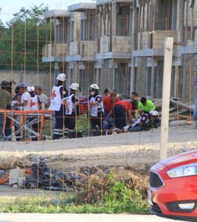 SANGRIENTO ATRACO EN RINCONADAS DEL MAR: 3 muertos y 7 lesionados en un intento de robo de la nómina de albañiles en una construcción en Cancún
