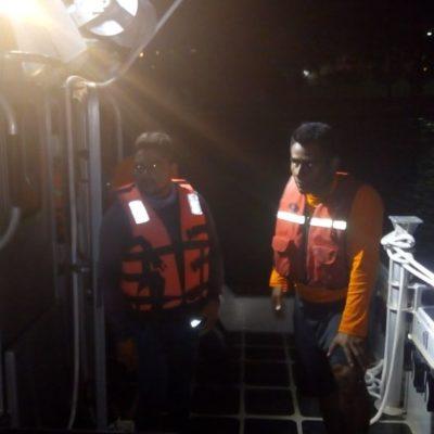 Rescatan an tres personas que quedaron  la deriva a 17 millas náuticas de Isla Mujeres