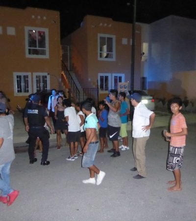 Vecinos atrapan a ladrón, la policíano llega y son atacados por pandilleros en Playa del Carmen