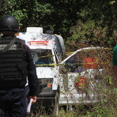 TRIPLE EJECUCIÓN EN LA SALIDA DE CANCÚN RUMBO A MÉRIDA: Hallan cadáveres de dos mujeres y un hombre en un tiradero clandestino por la avenida Huayacán; habrían sido levantados en un bar