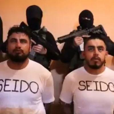 El Cártel de Jalisco levanta a dos agentes de la SEIDO y los obliga a grabar video contra operativos antinarco