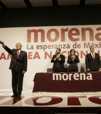 """""""QUIERO SER RECORDADO COMO UN BUEN PRESIDENTE"""": Larga lista de promesas utópicas de AMLO al rendir protesta como candidato de Morena"""