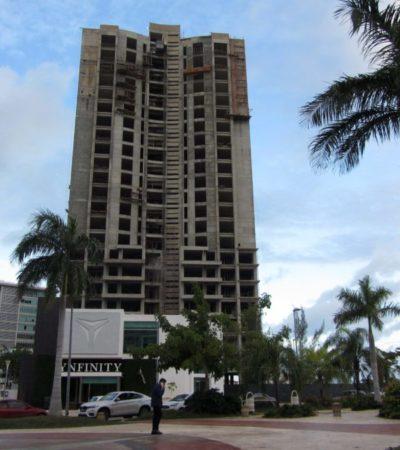 DAN REVÉS AL PROYECTO YNFINITY: No levantarán clausura, ni reducirá sanciones al complejo inmobiliario en Malecón Tajamar