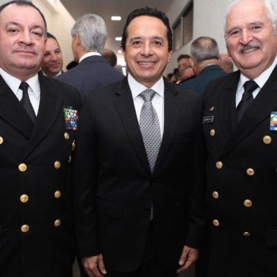 Asiste Gobernador a la conmemoración del Día del Ejército Mexicano en la Ciudad de México