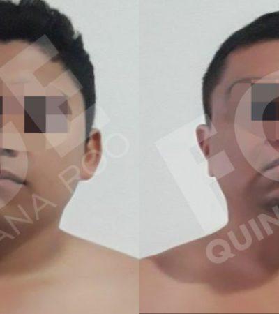 Vinculan a proceso y dan dos años de prisión preventiva a dos imputados por extorsión en Playa del Carmen