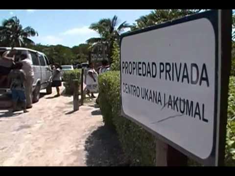 ULTIMÁTUM DE JUEZ A ALCALDESA DE TULUM: En 10 días debe retirar ambulantaje de acceso a playa en el Club Akumal Caribe