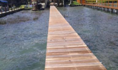 Clausura Profepa construcción de muelle en la laguna Bacalar