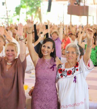 """""""ES EL TIEMPO DE LAS MUJERES"""": Alcaldesa de Puerto Morelos reconoce a quienes desde su trinchera contribuyen a tener una mejor sociedad, más igualitaria"""