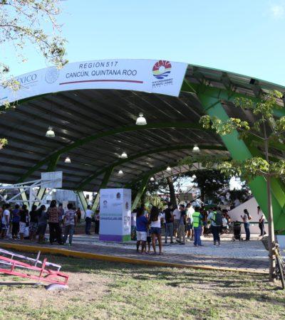 Entrega Alcalde el octavo domo deportivo en Cancún en el que se invirtieron 3.2 mdp