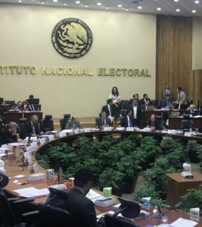Impone INE multa de 2.2 mdp a candidatos independientes