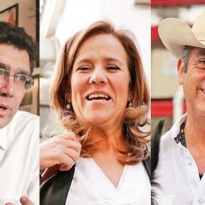 ELIMINA INE AL 'BRONCO' Y A RÍOS PITER: Margarita Zavala, la única candidata independente en las boletas electorales, anuncia