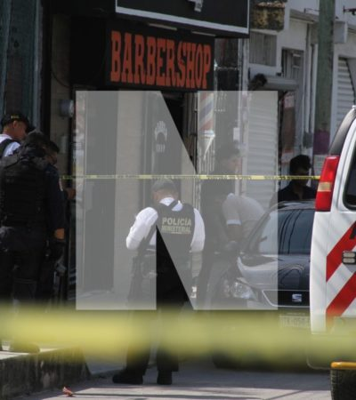SEGUIMIENTO | Hombre baleado en barbería de la Región 232 está fuera de peligro; dice desconocer el motivo de la agresión