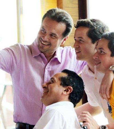 'CUMPLE' DE PEDRO JOAQUÍN DELBOUIS: Festeja la familia a candidato del PRI a la Alcaldía de Cozumel