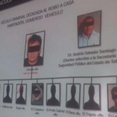 Detienen a presunto líder de una célula de secuestradores y ladrones de autos que operaba en Tabasco y Chiapas