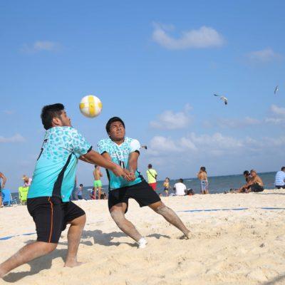 Inaugura Solidaridad Liga Municipal de Voleibol de Playa