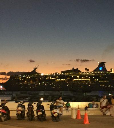 Afirma la Apiqroo que se mantienen normales los arribos de cruceros a Quintana Roo pese al caso Barcos Caribe