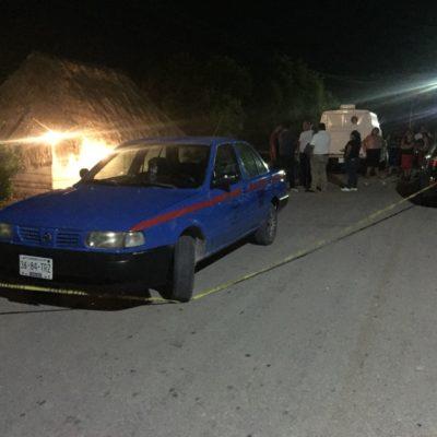 Comisariado ejidal mata a esposa y se suicida en Carrillo Puerto
