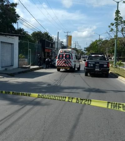 BALEADO EN BARBERÍA DE LA REGIÓN 232: Reportan disparos en negocio sobre la avenida Prolongación Tulum de Cancún