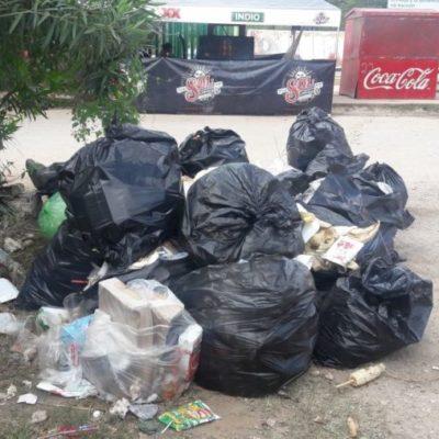 Cada día Expomor genera 106 toneladas de basura en JMM