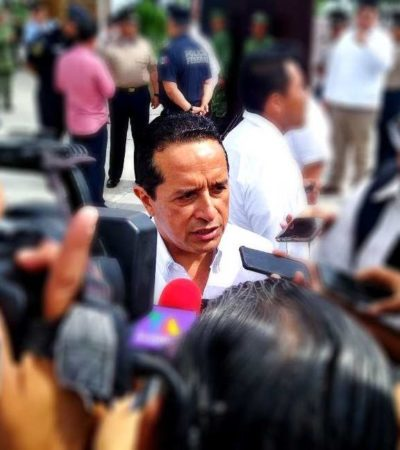 DINERO PÚBLICO Y PRIVADO, EN EL C-5 DE CANCÚN: Ambicioso proyecto de vigilancia en la Zona Norte de QR costaría 2 mil mdp y estaría listo en 10 o 12 meses, confirma Carlos Joaquín
