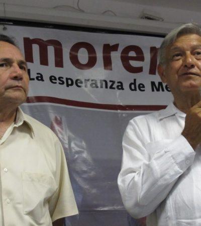 Rompeolas: Desoye AMLOinconformidadde militancia de Morena contra el Dr. Pech y 'Rafa' Marín