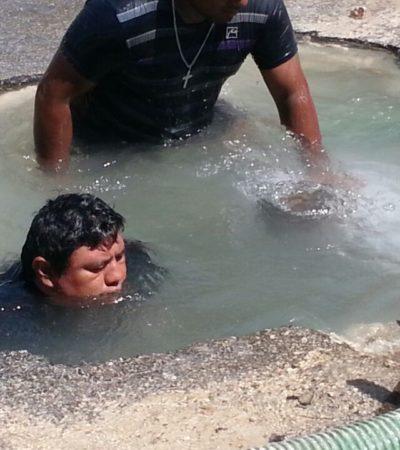 Desperdicia Chetumal 23.5 millones de litros de agua potable al día