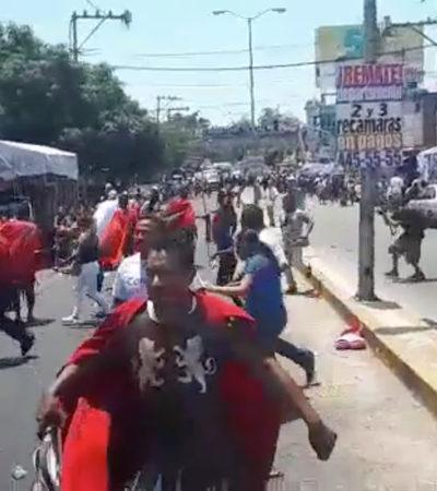 EL OTRO VIACRUCIS EN ACAPULCO: Suspenden procesión por enfrentamiento entre policías y delincuentes que deja saldo de dos muertos