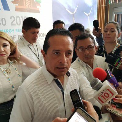 ATERRIZAN PROYECTOS DE 'ENERGÍA VERDE': Anuncia Carlos Joaquín construcción de plantas fotovoltaicas en el centro y sur de Quintana Roo