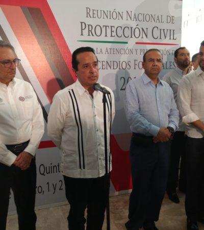 NO DESCARTAN AUTOATENTADO EN CASO BARCOS CARIBE: Anticipa Secretario de Gobernación que pronto tendrán responsables de la explosión en embarcación