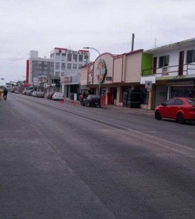 """""""NI LOS PERROS SALEN A LAS CALLES"""": Día muerto en Chetumal por ser día festivo"""