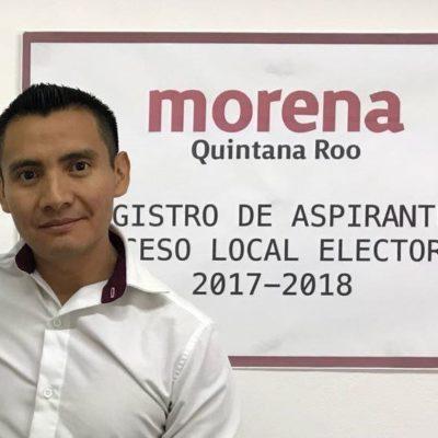 Manifiesta morenista fundador intención de contender por ser candidato a diputado federal