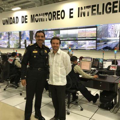 SE REÚNE PEDRO JOAQUÍN DELBOUIS CON SAIDÉN: Candidato priista a la Alcaldía de Cozumel le hace caso a AMLO y visita al jefe de la policía de Yucatán para conocer su estrategia de seguridad