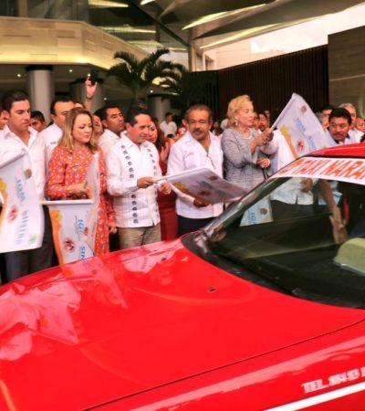 Para seguridad de las mujeres, Carlos Joaquín pone en marcha el servicio 'Taxi Naranja'