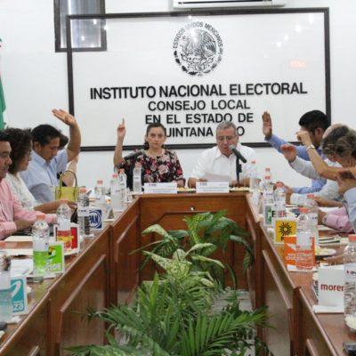 En la víspera del inicio de las campañas federales, aprueba INE últimos ajustes a fórmulas de candidaturas por Quintana Roo