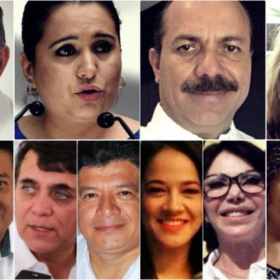 ¡QUÉ DIOS NOS AGARRE CONFESADOS!   ARRANCAN CAMPAÑAS EN 'VIERNES SANTO': En Quintana Roo, 11 mujeres y 7 hombres disputarán 4 diputaciones y 3 senadurías