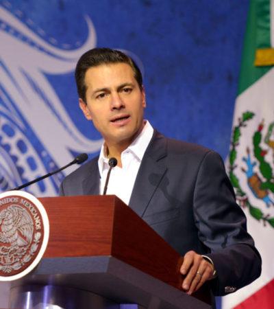 'AUDACES', 'COMPROMETIDOS', 'DECIDIDOS', 'ENTUSIASTAS': Peña Nieto da las 'claves' mexicanas para mejor conservación de los océanos