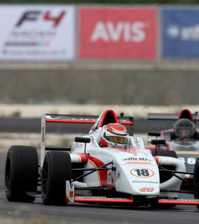 Regresa la Fórmula 4 al Autódromo Internacional 'Emerson Fittipaldi' de Mérida