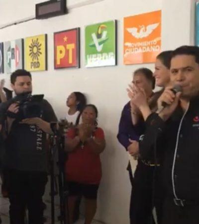 SE TRAGA 'GREG' SU BERRINCHE: Por séptima ocasión, Sánchez Martínez se postula para cargo público, ahora como diputado federal por Distrito 03