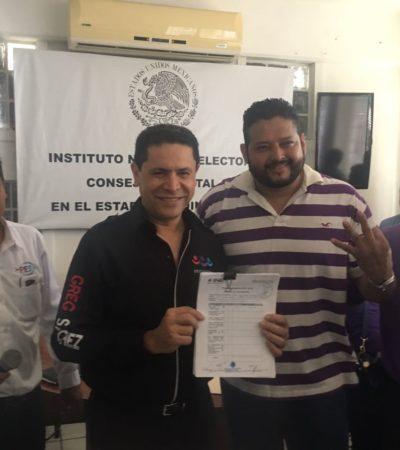 VA YERNO DE 'GREG' POR ALCALDÍA: Encuentro Social irá solo en Benito Juárez y Cozumel