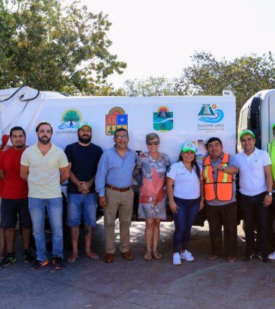 Inicia programa 'Avanzando Juntos por un Tulum más Limpio'