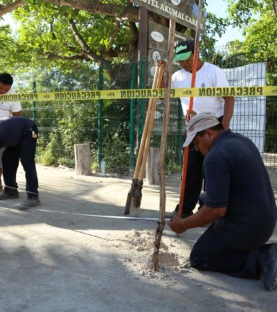 Cumple Ayuntamiento de Tulum con mandato judicial en Akumal