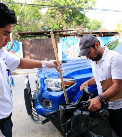 Realizan segunda jornada de limpieza en Tulum