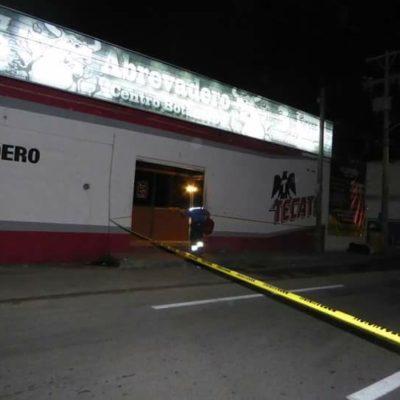 EJECUTADO EN 'EL ABREVADERO': Matan a balazos a un hombre en antro a pocos metros de la base de la Policía Federal en Playa; no hay detenidos