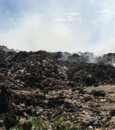 CONTINGENCIA AMBIENTAL E INSTITUCIONAL EN TULUM: Incendios en tiraderos a cielo abierto son tan frecuentes que ni siquiera son noticia | Por Carlos Meade