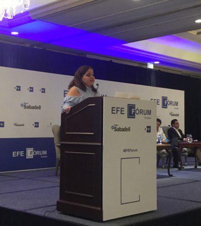 Conoce secretario de Turismo 'inquietudes' de empresarios en reunión privada en Cancún