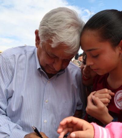 Por acciones como no proceder contra César Duarte, la gente ya no le cree al PRI, dice AMLO