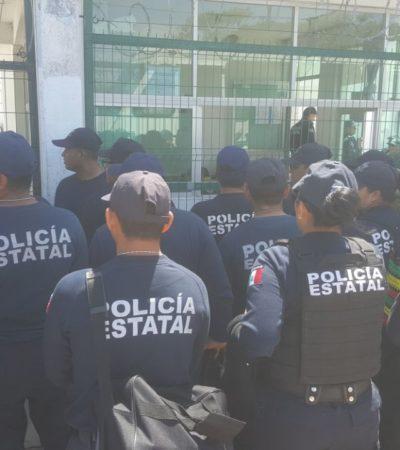 ESTALLA VIOLENCIA EN EL CERESO DE CHETUMAL: Movilización policiaca tras reporte de riña o motín al interior de la cárcel