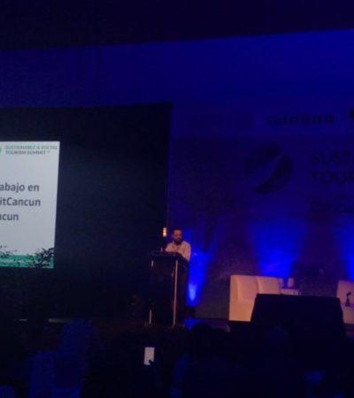 INAUGURAN CONVENCIÓN EN CANCÚN: Presentarán 45 soluciones de 'turismo sustentable' en el encuentro Sustainable & Social Tourism Summit