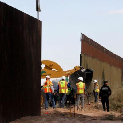 Evaluará Trump prototipos de muro en la frontera con México la siguiente semana